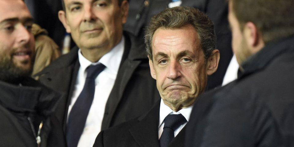 Fail : Nicolas Sarkozy est parti du Stade de France juste avant le but de Dimitri Payet
