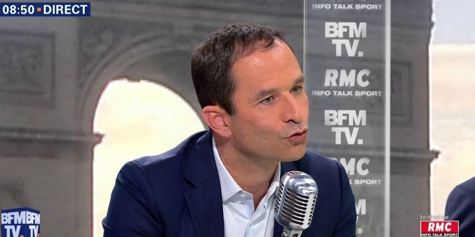 """""""Fainéants"""" : la violente diatribe de Benoît Hamon contre Emmanuel Macron, """"président immature et cynique"""""""