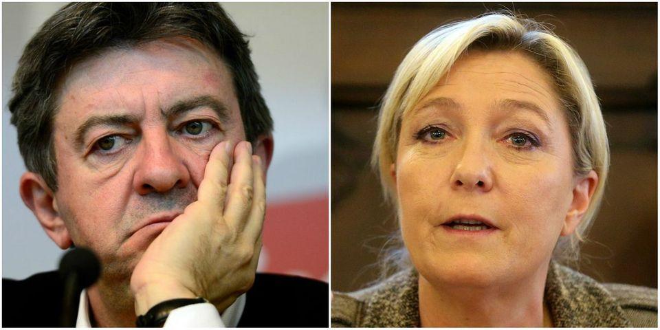 """Faux tracts : Mélenchon assure que l'UMP, le PS et le FN ont cherché """"à sauver le soldat Le Pen"""""""
