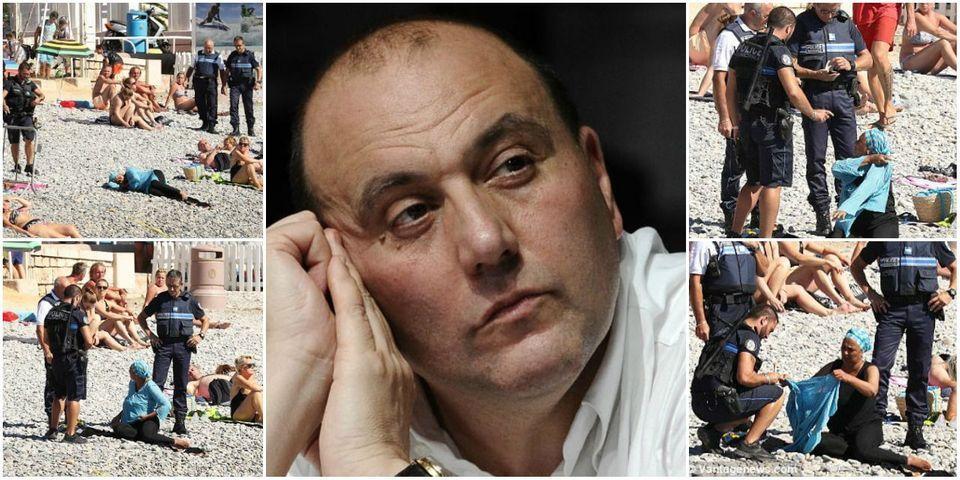 Femme voilée sur une plage de Nice : Julien Dray suggère que les photos sont le résultat d'une manipulation