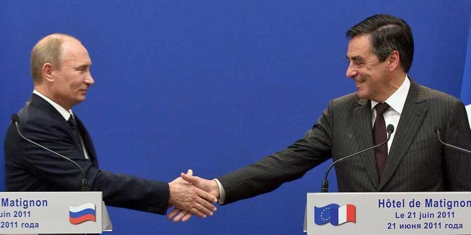 """Fillon à Poutine : """"bravo"""", et """"merci"""" !"""