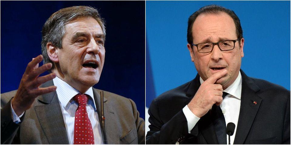 """Fillon compare Hollande à l'ancien président Paul Deschanel """"qui tombe sans cesse du train"""""""
