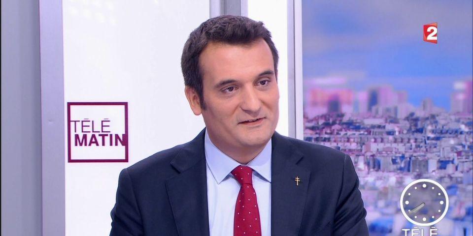 Florian Philippot annonce qu'il quitte le FN