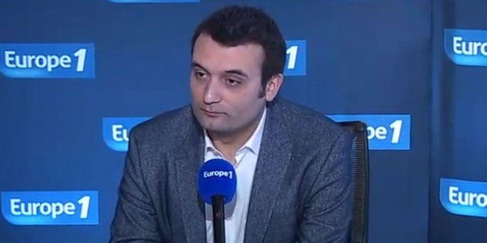 Florian Philippot assure que le FN ne changera pas de nom en 2014
