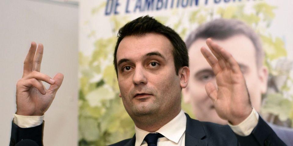 """Florian Philippot conseille aux """"anonymes rageux"""" qui le critiquent """"de fonder l'association des anonymes rageux"""""""