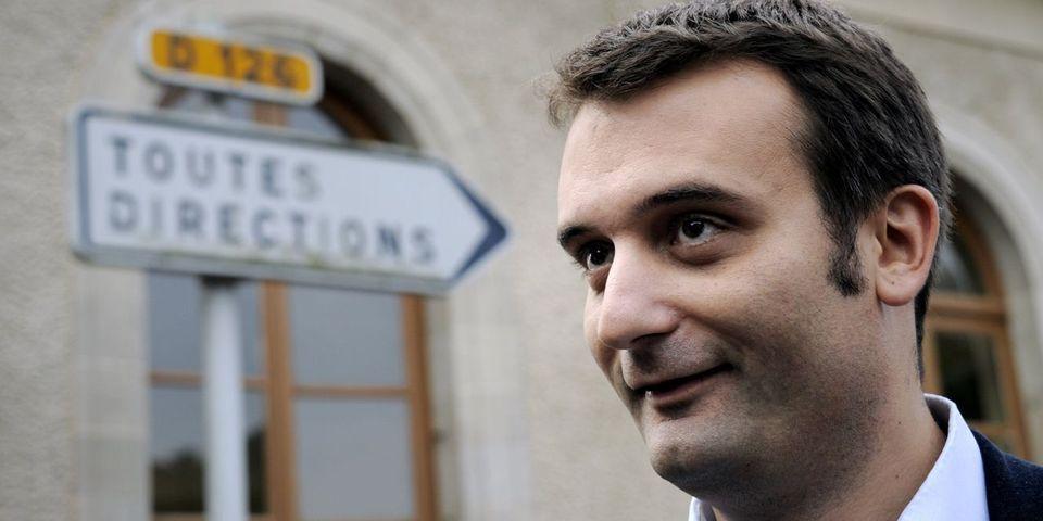 Florian Philippot d'accord pour ne toucher que le Smic s'il est élu député européen