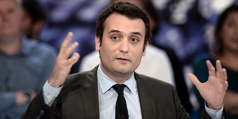 Florian Philippot est convaincu que Marine Le Pen est visée par un complot judiciaire pour 2017