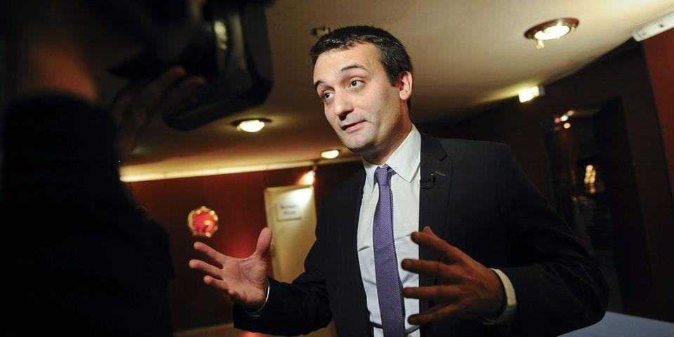 """Florian Philippot estime que les journalistes du Petit journal sont """"des militants anti-FN"""""""