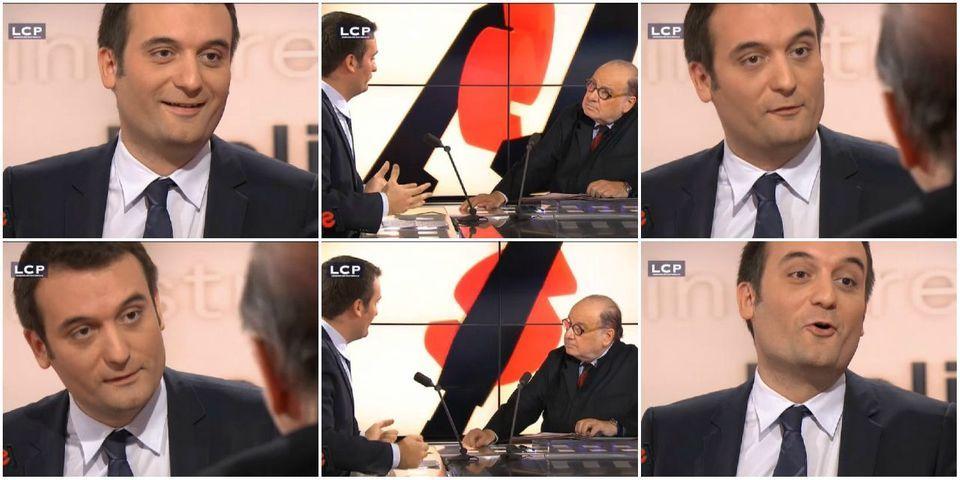 """Florian Philippot évoque toutes ces fois où il a eu """"l'occasion de descendre"""" Jean-Marie Le Pen"""