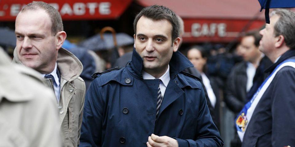 """Florian Philippot minimise les démissions des """"aigris"""" du FN, qui """"n'ont pas été investis"""" pour les régionales"""