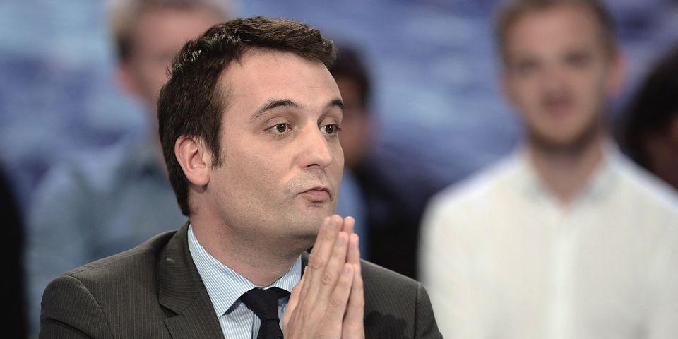 """Florian Philippot réaffirme la volonté du FN d'interdire les """"signes religieux ostensibles dans l'espace public"""""""
