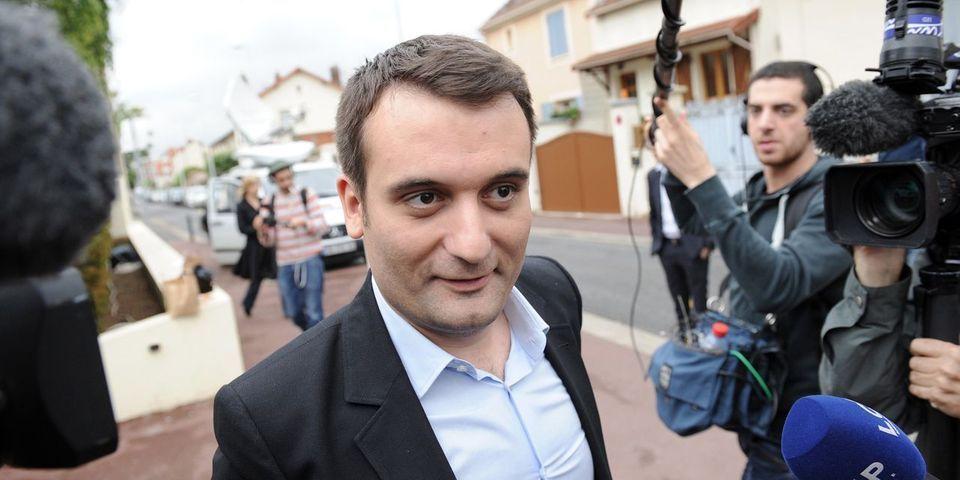 Florian Phillippot accuse François Hollande de diffamer la candidate FN dans le Doubs