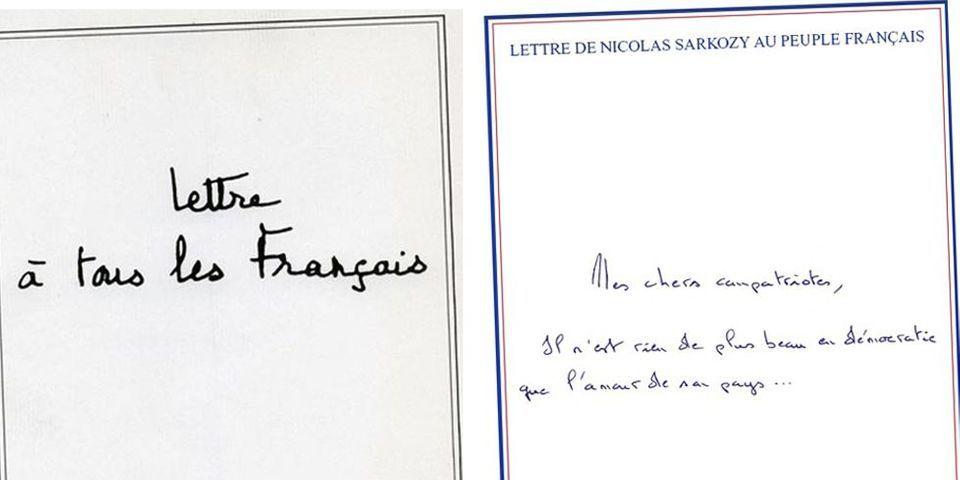 1988-2012 : lecture croisée de deux lettres aux Français