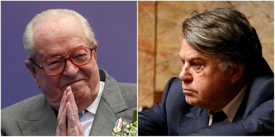 FN : Jean-Marie Le Pen remet sur la table l'éventualité d'une adhésion de Gilbert Collard