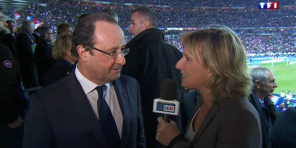 France - Ukraine : les mots de la victoire de François Hollande