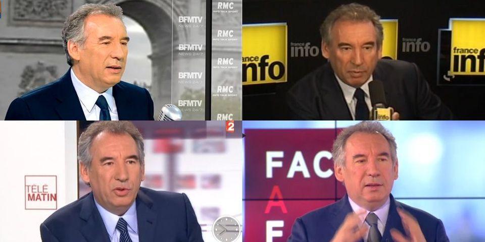 François Bayrou, le plus grand squatteur de matinale du mois de septembre 2013