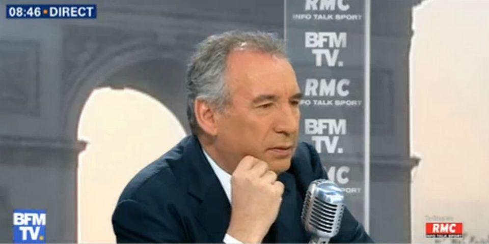 """Bayrou salue l'attaque de Poutou contre Marine Le Pen, """"le moment  le plus fort"""" du débat"""