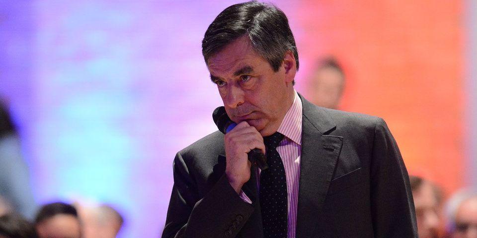 """François Fillon étrille """"certains"""" candidats qui """"perdent leur sérieux en parlant de frites et de jambon"""""""