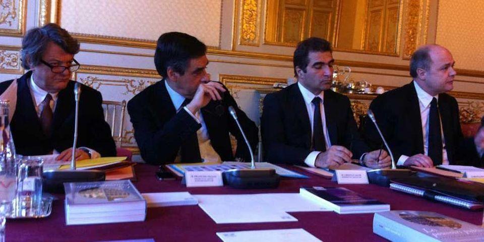 François Fillon fait ses premiers pas en tant que président de groupe à l'Assemblée nationale