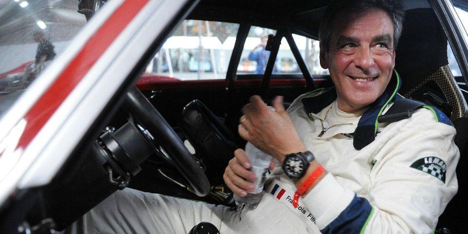 """François Fillon par sa participation à l'émission Top Gear a """"l'impression de rentrer dans l'Histoire"""""""