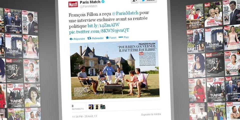 François Fillon pose en famille dans Paris Match : trois ans plus tôt, il ne jurait que par le respect de sa vie privée