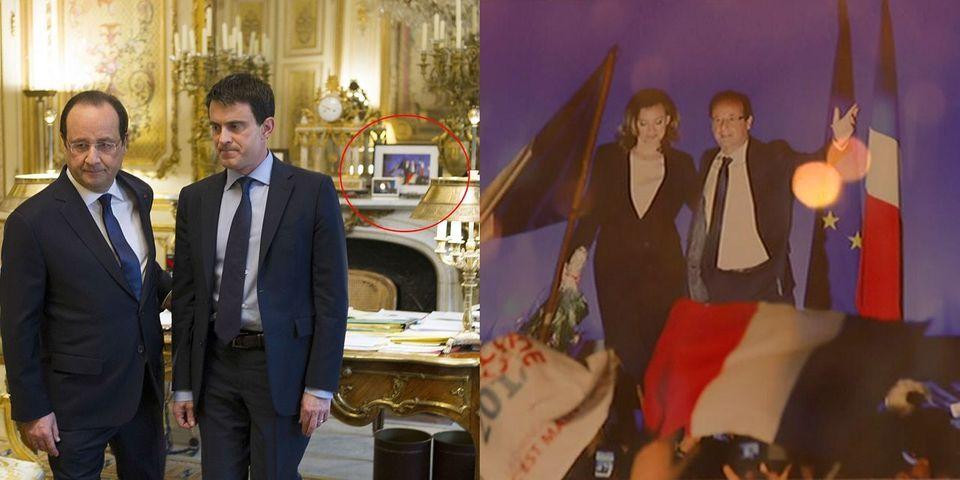 François Hollande a gardé la photo de Valérie Trierweiler dans son bureau de l'Elysée