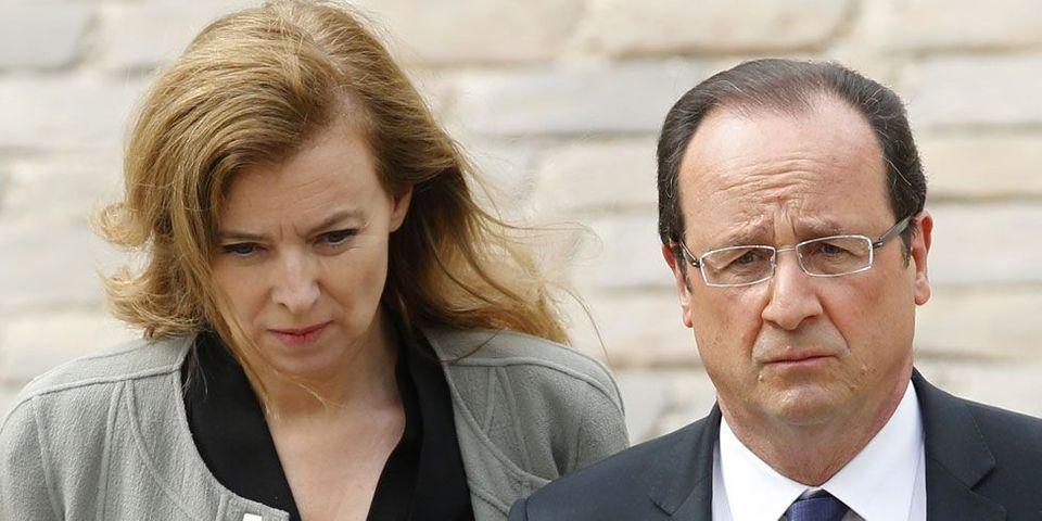 """François Hollande annonce la """"fin de sa vie commune"""" avec Valérie Trierweiler"""