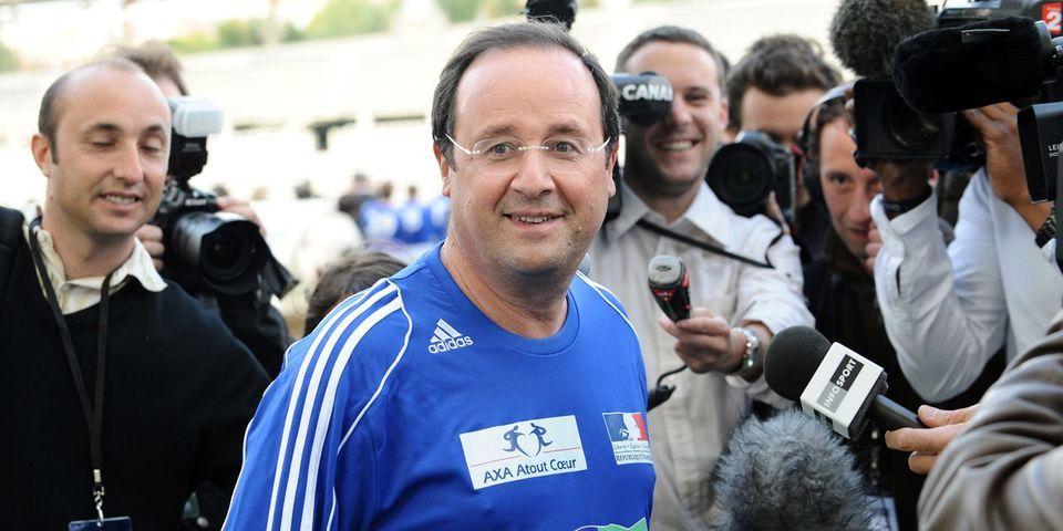 """François Hollande compte sur l'Euro de football pour """"mettre le pays de bonne humeur"""""""