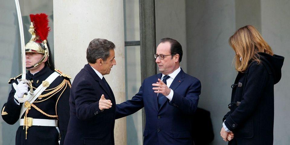 François Hollande dément implicitement avoir invité Nicolas Sarkozy à le rejoindre au premier rang de la manif pour Charlie Hebdo