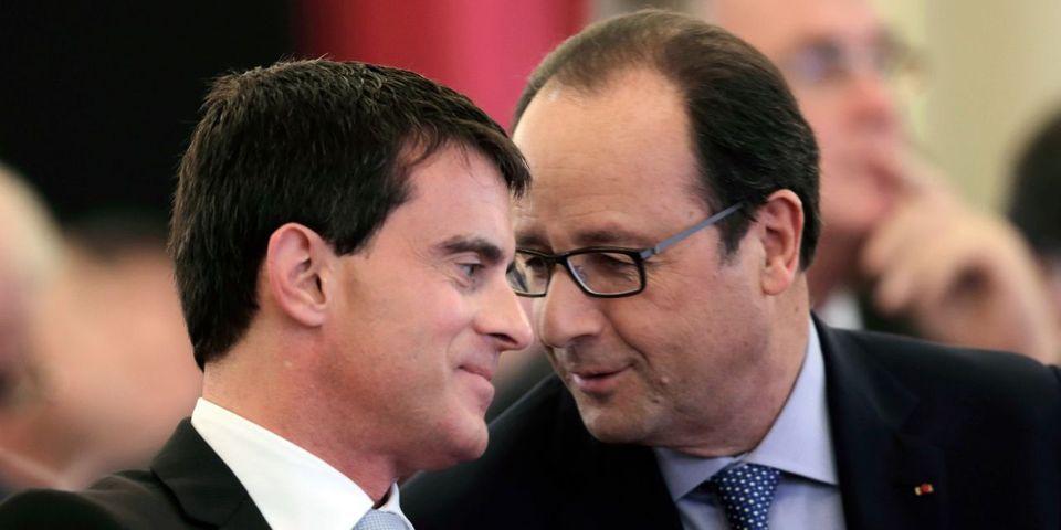"""François Hollande dit """"se méfier"""" de Manuel Valls pour 2017"""