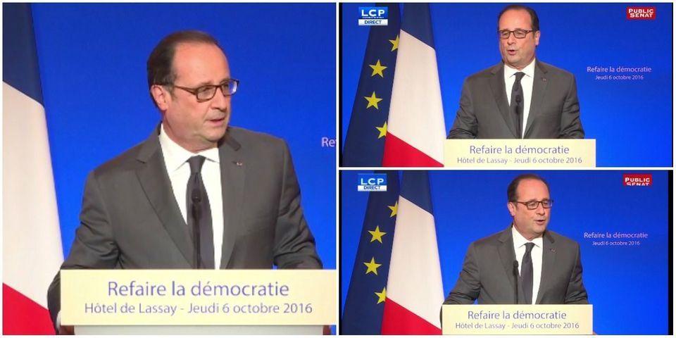 François Hollande estime qu'il sera impossible de revenir sur la réforme du cumul des mandats