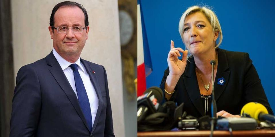 Consultations sur le rapport Jospin : François Hollande invite Marine Le Pen à l'Elysée