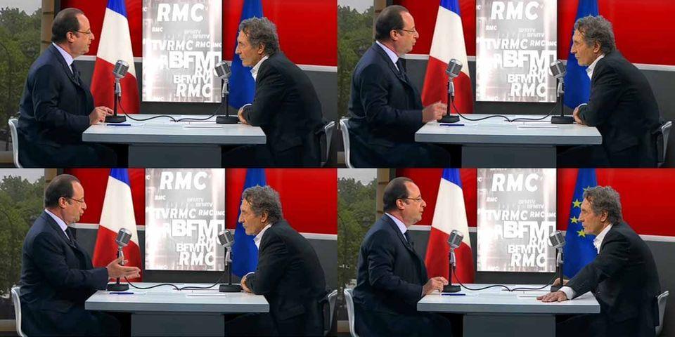 """François Hollande : """"si j'ai gagné, ce n'est pas parce que j'avais un programme étincelant ..."""""""