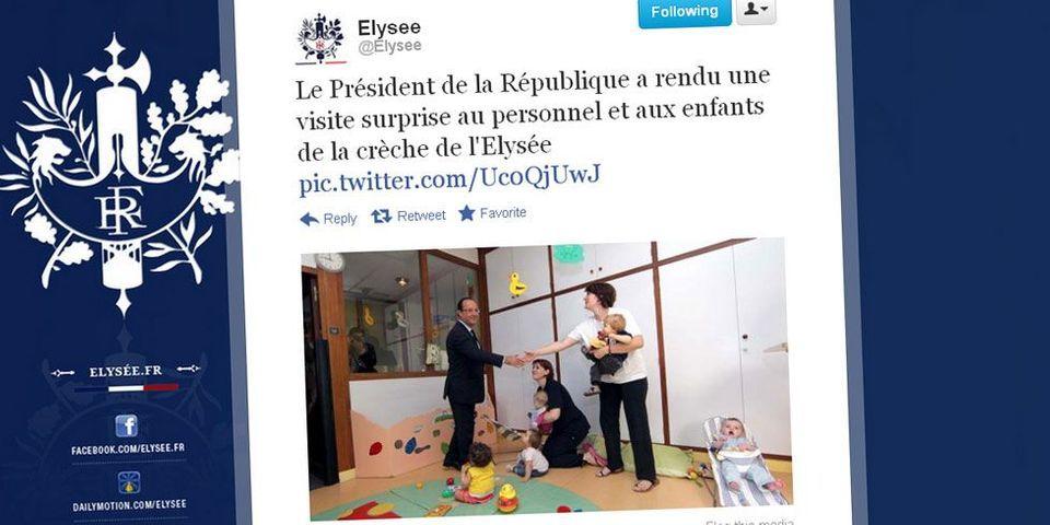 François Hollande, le président des bisous (bis)
