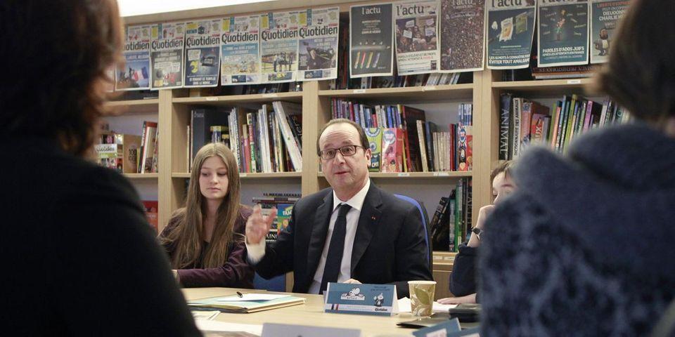 François Hollande ne veut pas supprimer les notes à l'école