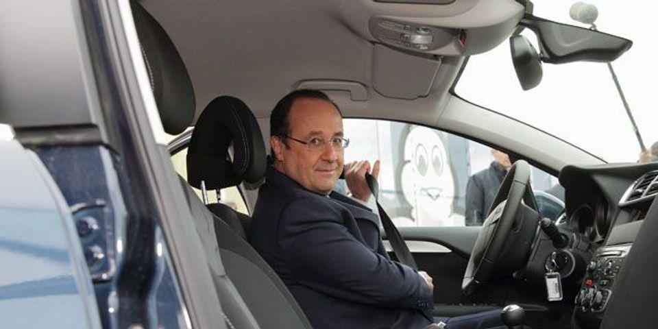"""François Hollande ne se présentera pas en 2017 """"si le chômage ne baisse pas"""""""