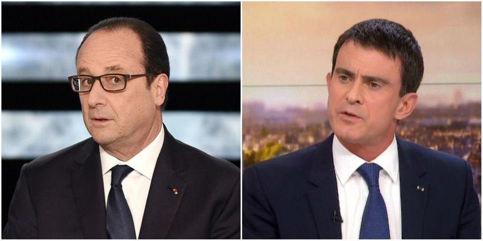 François Hollande promet une grande séquence com' en janvier, Manuel Valls s'y met... en décembre