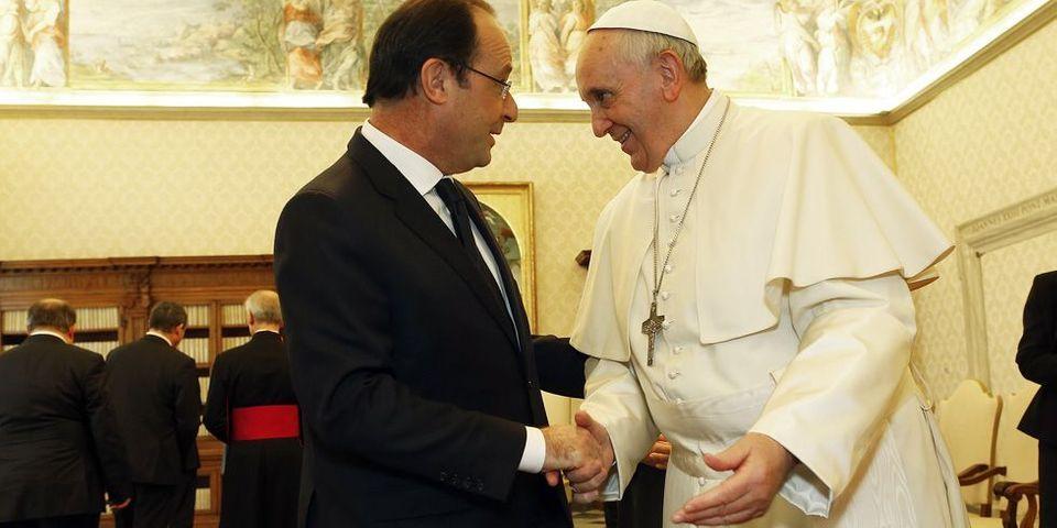 François Hollande rencontre le Pape François : le débrief version Hollande et le débrief version Vatican