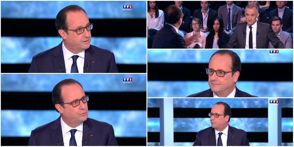 François Hollande répond à Nicolas Sarkozy et défend son amour des frites