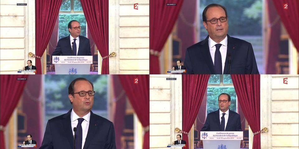 """François Hollande reprend la phrase de François Fillon sur """"l'État en faillite"""""""