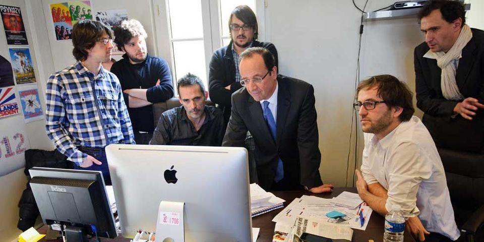 François Hollande ressuscite les rencontres blogueurs a l'Élysée
