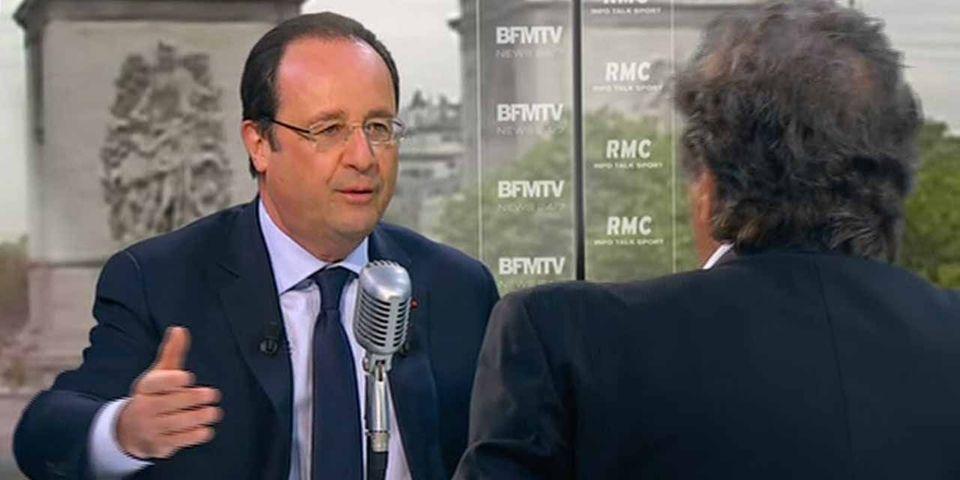 """François Hollande sur sa vie privée : """"jamais je n'ai été dans une forme de vulgarité"""""""