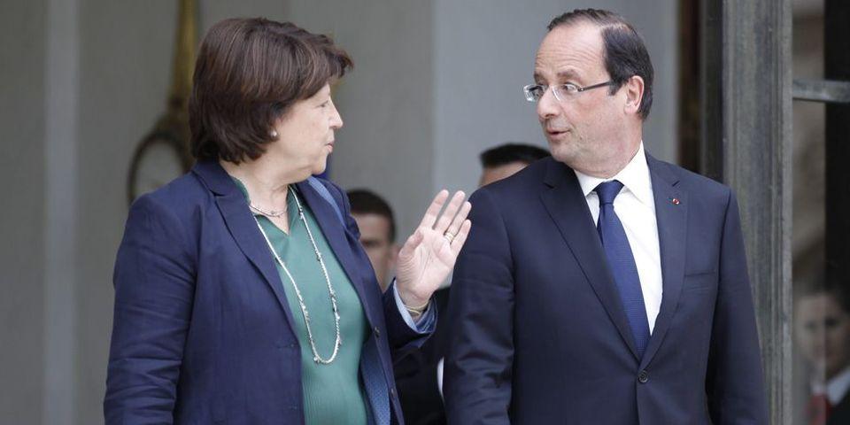 """François Hollande va recevoir Martine Aubry pour un déjeuner """"secret"""" à l'Elysée"""