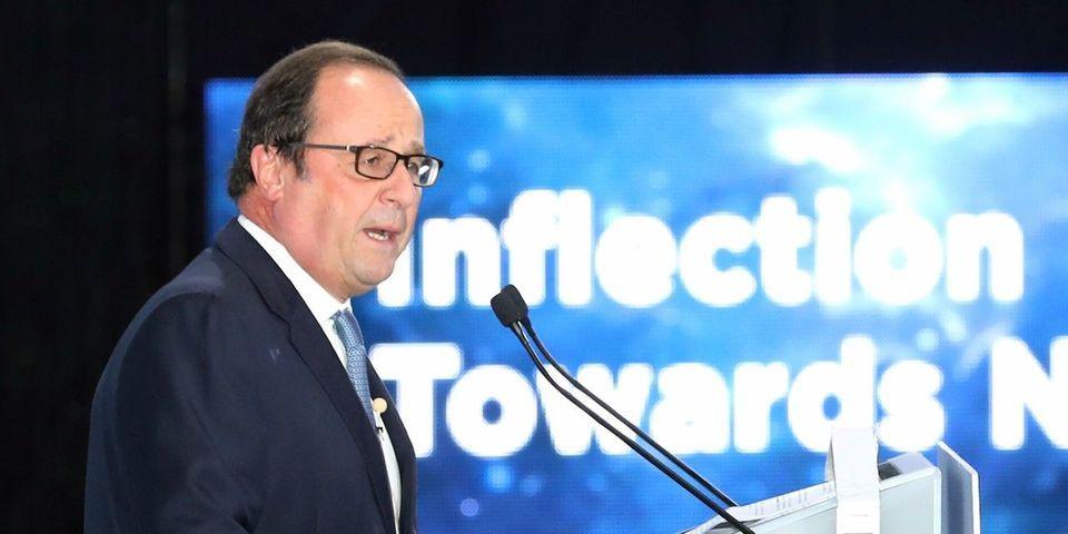 François Hollande va reverser la rémunération de sa conférence en Corée du Sud à sa fondation La France s'engage