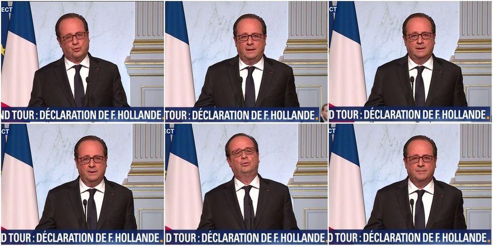 """François Hollande votera Macron face au """"risque"""" de l'extrême droite"""