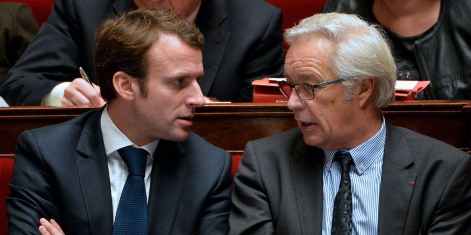 François Rebsamen propose de pistonner Emmanuel Macron pour un mandat de député à Dijon