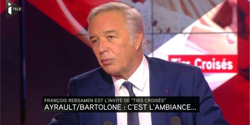 """François Rebsamen trouve """"déplacés"""" les propos de Claude Bartolone sur Jean-Marc Ayrault"""