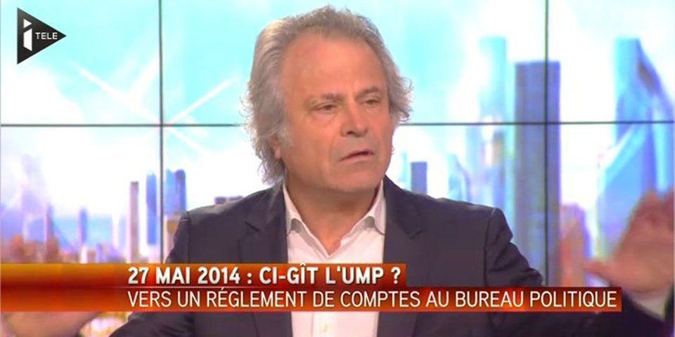 """Franz-Olivier Giesbert pense que Jean-François Copé """"va disparaître dans les égouts"""""""