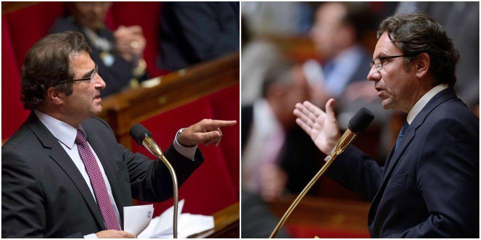 Frédéric Lefebvre lance un appel à voter pour la loi Macron et se fait reprendre par Christian Jacob