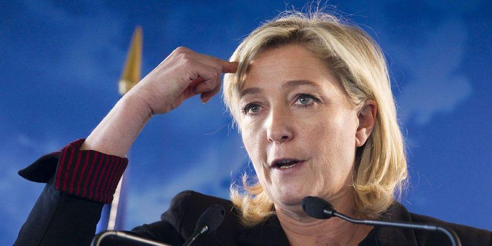 Caricatures au FN : Marine Le Pen regrette